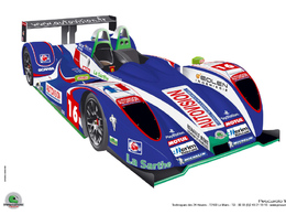Des nouvelles couleurs pour le Pescarolo Team Autovision!