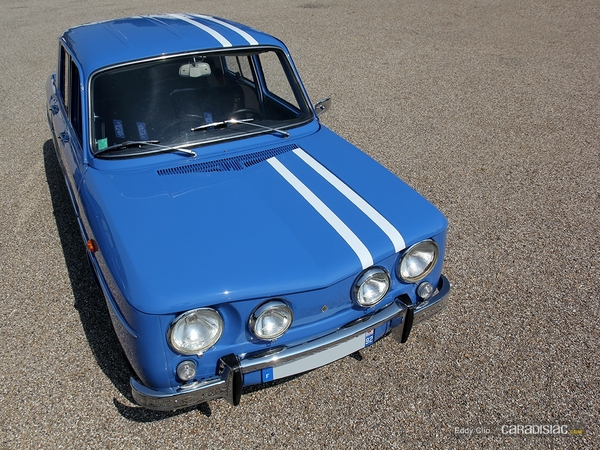 photos du jour renault 8 gordini cars coffee paris. Black Bedroom Furniture Sets. Home Design Ideas