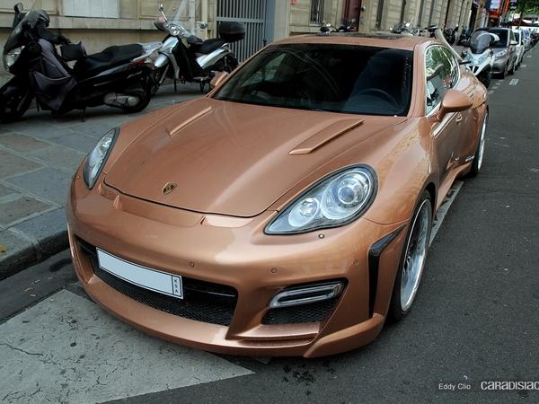 Photos du jour : Porsche Panamera Fab Design