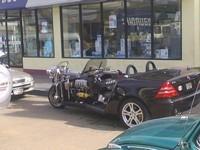 Mercedes SLK + Trike = ???