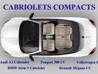 comparatif cabriolets compacts audi a3 cabriolet peugeot 308cc volkswagen eos bmw s rie 1. Black Bedroom Furniture Sets. Home Design Ideas