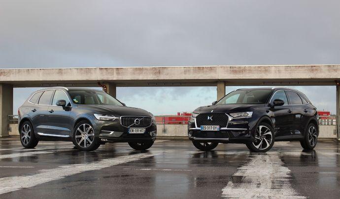 Comparatif vidéo - DS 7 Crossback vs Volvo XC60 : question d'ambiance