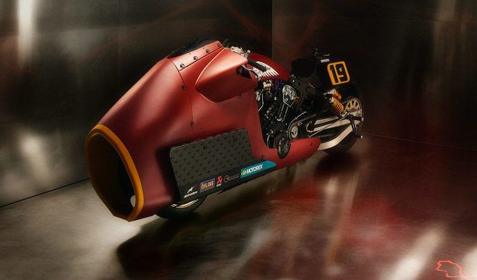 Indian Bobber Appaloosa by Workhorse Speedshop : prêt pour les Sultans of Sprint Serie