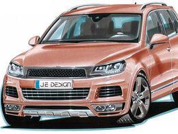 Volkswagen Touareg par JE Design : déjà chargé