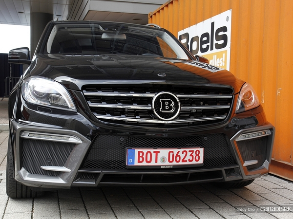 Photos du jour : Brabus ML 700 Biturbo (Salon de Francfort)