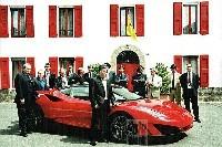 Ferrari SP1: livrée avant d'avoir été présentée!