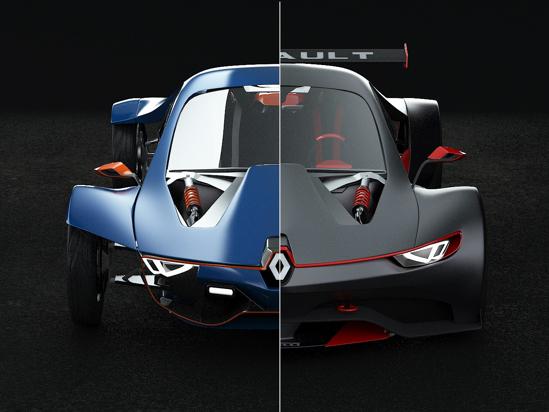 Renault Fly GT Concept: graine d'Alpine