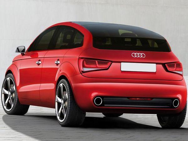 Future Audi A2 : comme ça ?