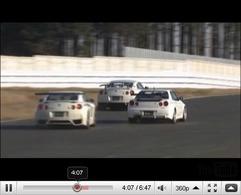 Réveil Auto - R34 Mine's vs R35 MCR vs R35 Esprit vs R35 Yamada : la mémé a de beaux restes