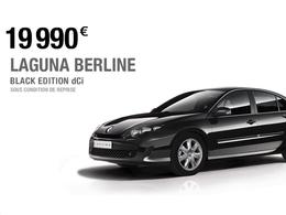 Renault Laguna Black Edition : la Laguna au prix d'une Mégane