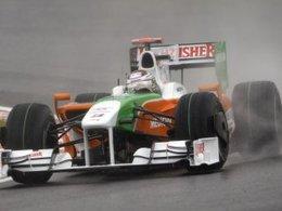 Force India : Les deux VJM03 dans le top 10