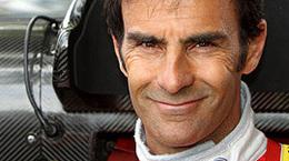Emanuele Pirro sur une Lola du Drayson Racing!