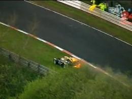 [Vidéo] Il saute de sa Lotus Exige en flamme pendant les 24 Heures du Nürburgring