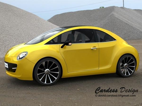 future Volkswagen Beetle : certains l'imaginent comme ça