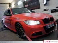 La BMW 330D passe entre les mains de BBM Motorsport