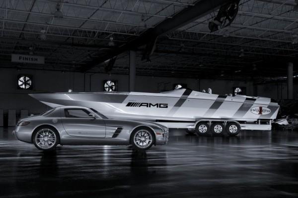 Un offshore inspiré par la Mercedes SLS AMG