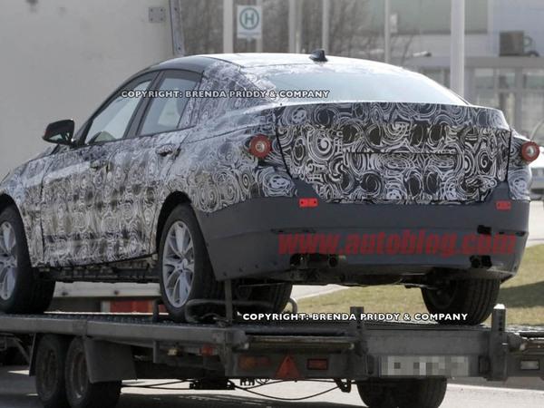Future BMW Série 3 GT: nouvelles prises