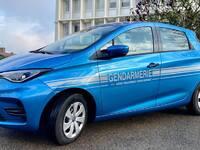 La Gendarmerie reçoit des Renault Zoé