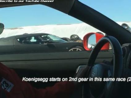 [Vidéo] Koenigsegg CCR, déesse de la drag race ? Aujourd'hui, le scalp de la Nissan GT-R Switzer P800