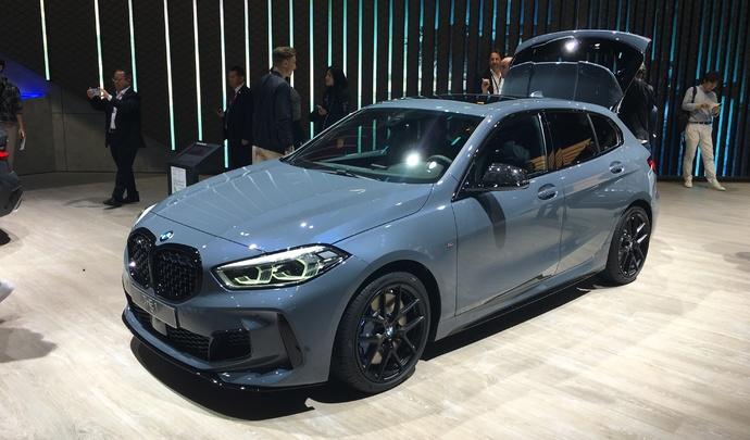 BMW Série 1 F40 : adieu propulsion - Vidéo en direct du salon de Francfort 2019