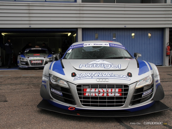 Photos du jour : Audi R8 V10 LMS