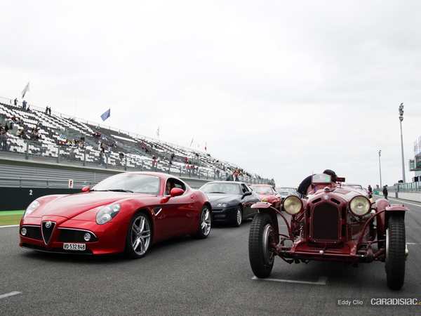 Photos du jour : Alfa Romeo 8C (Classic Days)