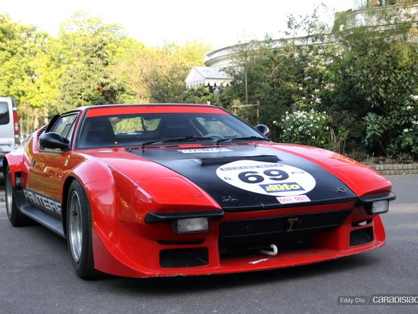 Photos du jour : De Tomaso Pantera GTS (Tour Auto)