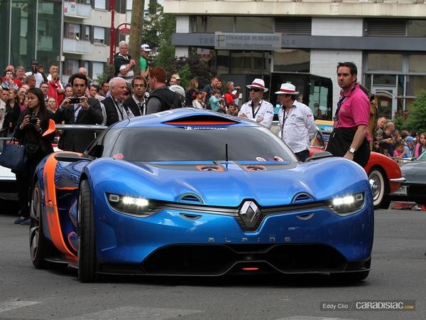 Photos du jour : Alpine A110-50 (Parade des Pilotes du Mans).