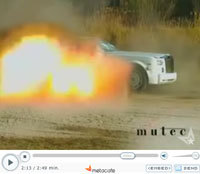 A vendre Rolls Royce Phantom faible km, quelques éclats...