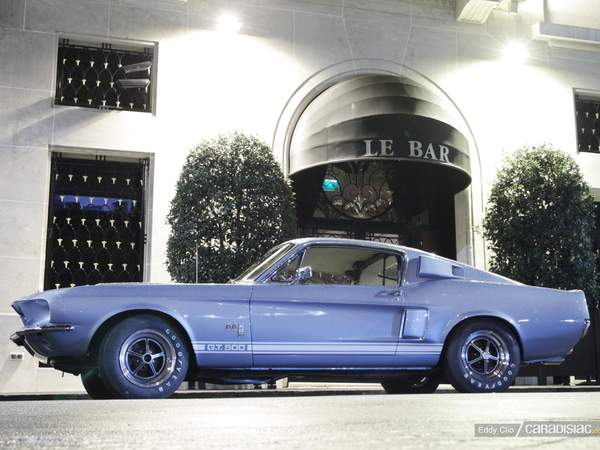 Photos du jour : Ford Mustang Shelby GT 500 1967