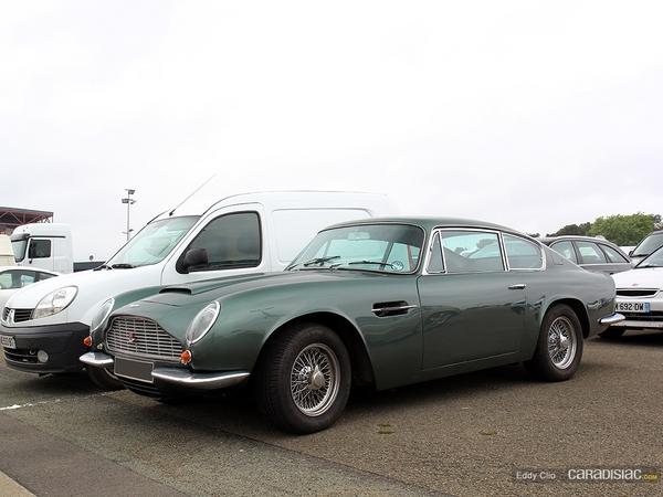 Photos du jour : Aston Martin DB6 Mk2