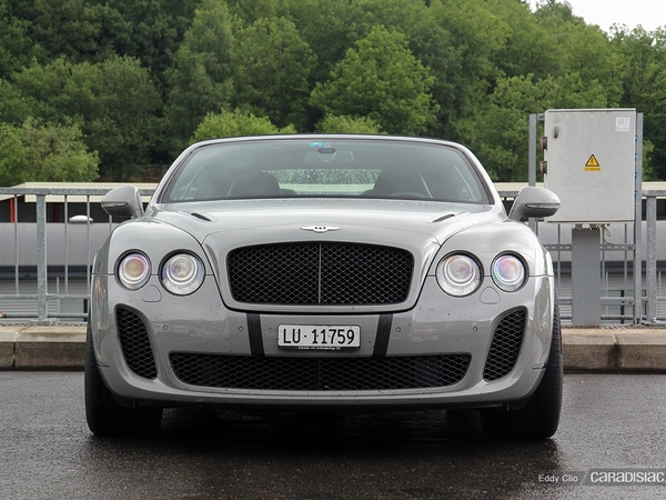 Photos du jour : Bentley Continental GT Supersports  Convertible (Modena Track Days)