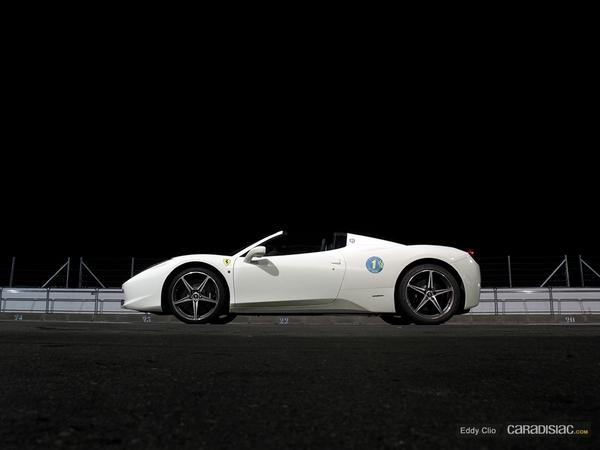 Photos du jour : Ferrari 458 Spider ( Sport & Collection)