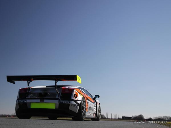 Photos du jour : Lamborghini Gallardo GT3