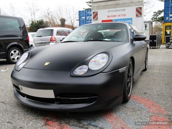 Photos du jour : Porsche 996 GT3