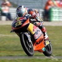 Moto 3 - Pays-Bas Qualifications: Sandro Cortese en chef d'équipe