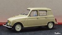 Miniature : 1/43ème - RENAULT R4