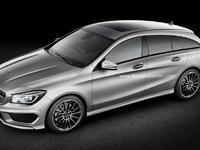Un futur Mercedes CLA Shooting Brake à l'étude, le SLA remisé