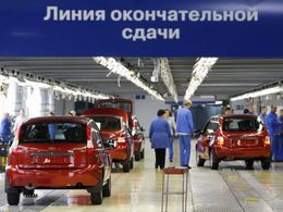 AvtoVaz replonge au premier semestre 2013