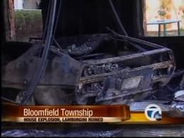 VDM puissance 10 : sa Lamborghini Espada s'enflamme, explose et détruit sa maison !
