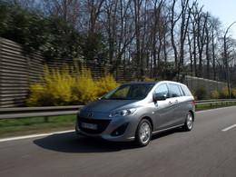 "Mazda arrête la production de la ""5"""