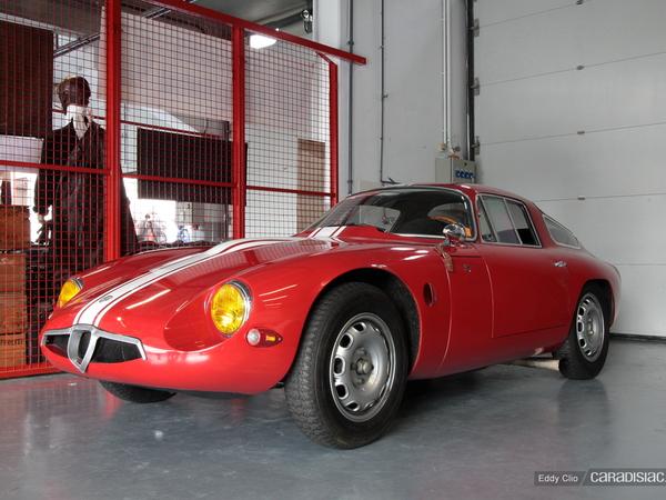 Photos du jour : Alfa Romeo Giula TZ (Classic Days)