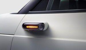 Honda e: des caméras à la place des rétroviseursen série