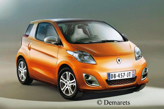 La Smart de Renault comme ça ?