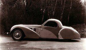Rétromobile 2018 : les Bugatti Type 57 et Chiron