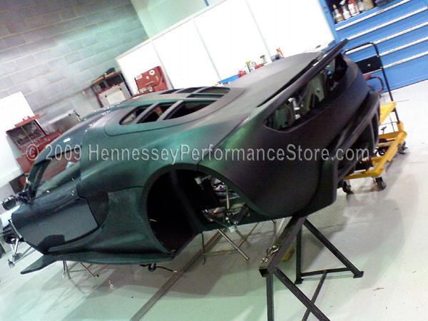 L'Hennessey Venom GT, surprise en test, sera présentée en juillet
