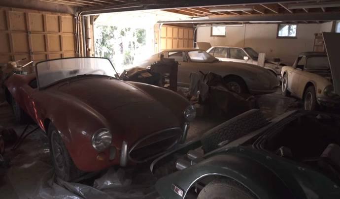 Sortie de grange : un garage abandonné exceptionnel aux Etats-Unis
