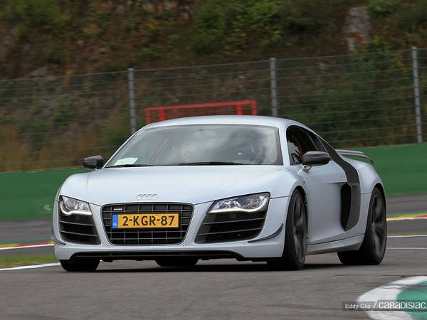 Photos du jour : Audi R8 GT (Modena Track Days)