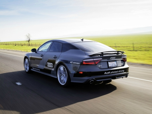 Audi : une voiture totalement autonome d'ici 10 ans