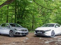Comparatif - Mazda 3 VS Peugeot 308: leadership contesté